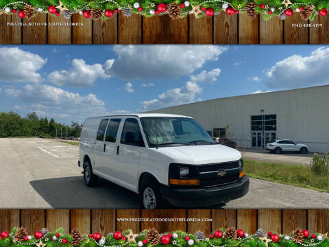 2013 Chevrolet Express Cargo for sale at Prestige Auto of South Florida in North Port FL