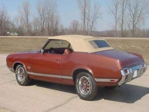 1971 Oldsmobile Cutlass for sale at Hines Auto Sales in Marlette MI