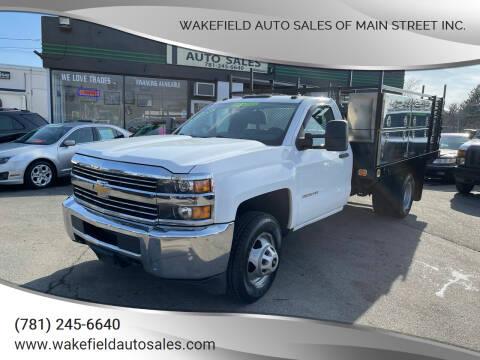 2015 Chevrolet Silverado 3500HD for sale at Wakefield Auto Sales of Main Street Inc. in Wakefield MA