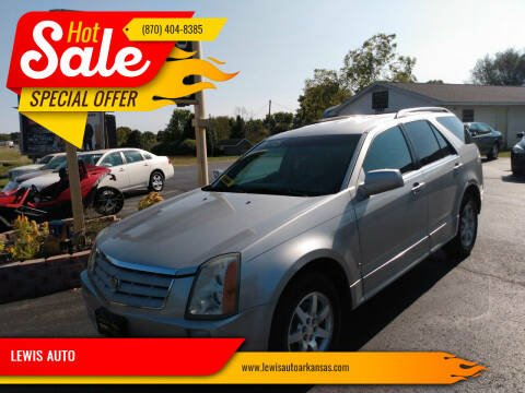 2006 Cadillac SRX for sale at LEWIS AUTO in Mountain Home AR