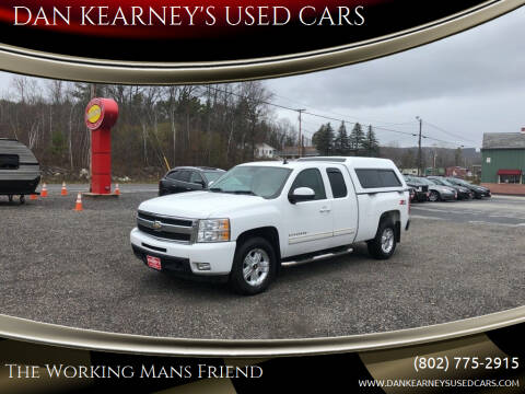 2009 Chevrolet Silverado 1500 for sale at DAN KEARNEY'S USED CARS in Center Rutland VT