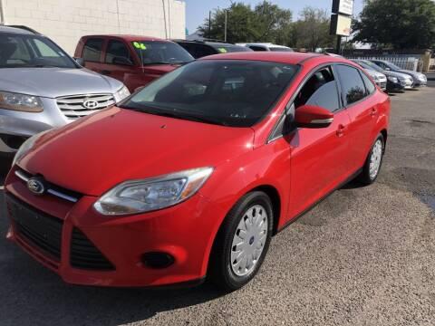 2014 Ford Focus for sale at Top Gun Auto Sales, LLC in Albuquerque NM