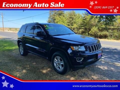 2014 Jeep Grand Cherokee for sale at Economy Auto Sale in Modesto CA