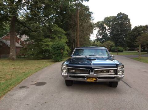 1967 Pontiac GTO for sale at Classic Car Deals in Cadillac MI