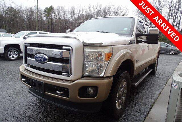 2012 Ford F-250 Super Duty for sale at Brandon Reeves Auto World in Monroe NC