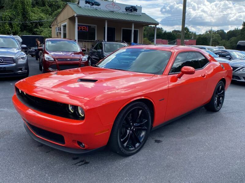 2018 Dodge Challenger for sale at Luxury Auto Innovations in Flowery Branch GA
