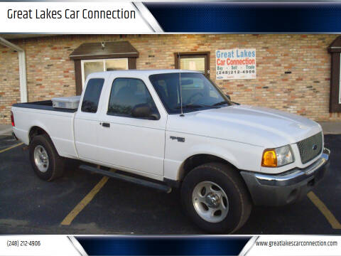 2003 Ford Ranger for sale at Great Lakes Car Connection in Metamora MI