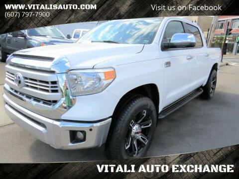 2014 Toyota Tundra for sale at VITALI AUTO EXCHANGE in Johnson City NY