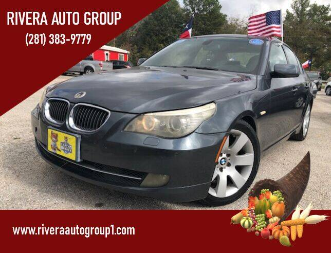 2009 BMW 5 Series for sale at Rivera Auto Group in Spring TX