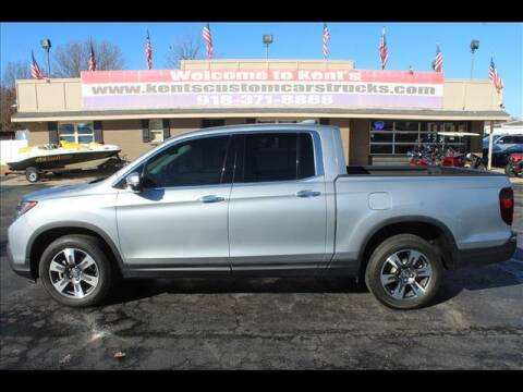 2017 Honda Ridgeline for sale at Kents Custom Cars and Trucks in Collinsville OK