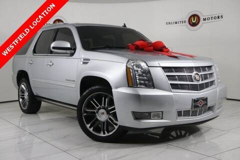 2013 Cadillac Escalade for sale at INDY'S UNLIMITED MOTORS - UNLIMITED MOTORS in Westfield IN