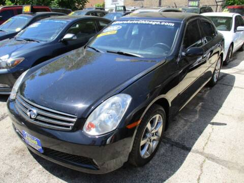 2006 Infiniti G35 for sale at 5 Stars Auto Service and Sales in Chicago IL