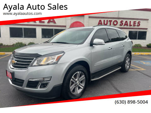 2015 Chevrolet Traverse for sale at Ayala Auto Sales in Aurora IL