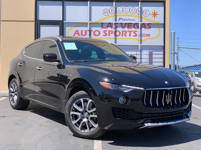 2017 Maserati Levante for sale at Las Vegas Auto Sports in Las Vegas NV