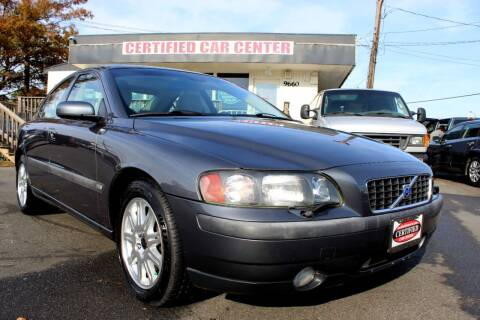 2004 Volvo S60 for sale at CERTIFIED CAR CENTER in Fairfax VA