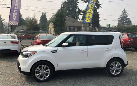 2015 Kia Soul for sale at A & V AUTO SALES LLC in Marysville WA