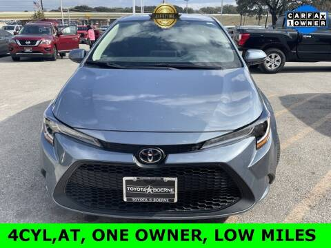 2021 Toyota Corolla for sale at Nissan of Boerne in Boerne TX