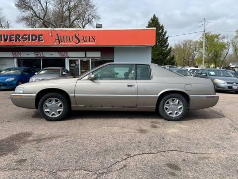 2001 Cadillac Eldorado for sale at RIVERSIDE AUTO SALES in Sioux City IA