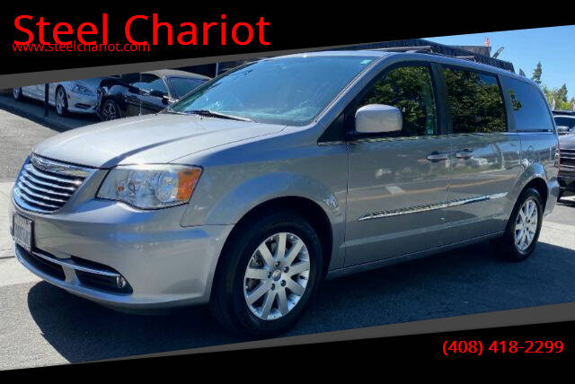 2014 Chrysler Town and Country for sale at Steel Chariot in San Jose CA