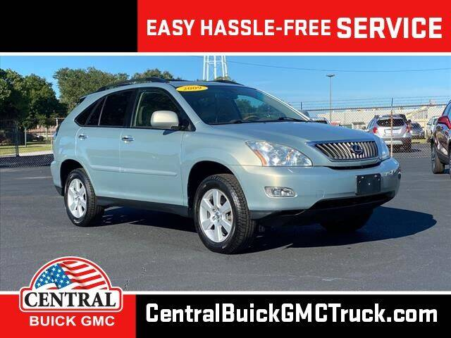 2009 Lexus RX 350 for sale at Central Buick GMC in Winter Haven FL