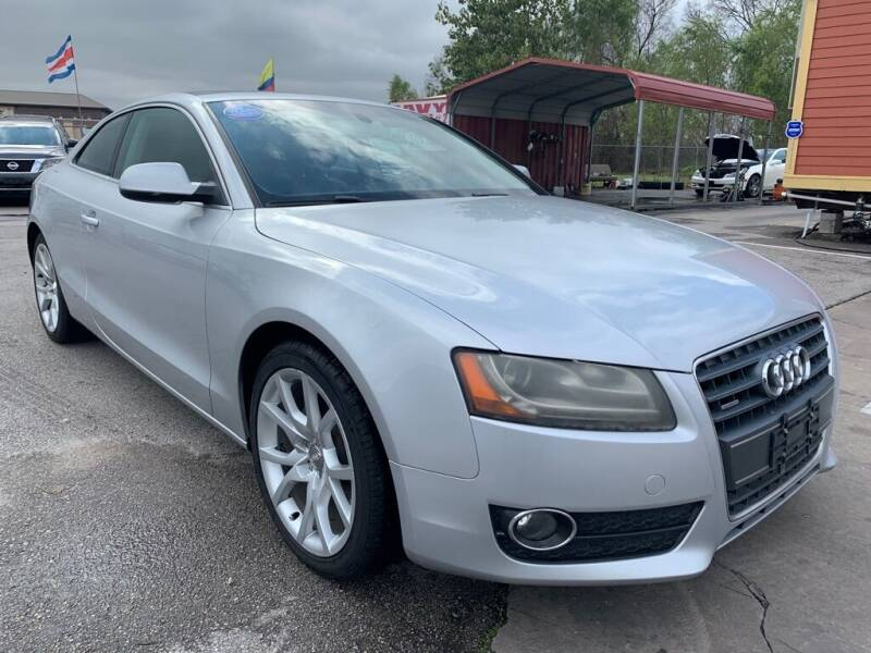 2012 Audi A5 for sale at JAVY AUTO SALES in Houston TX