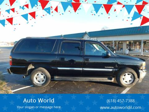 2005 GMC Yukon XL for sale at Auto World in Carbondale IL