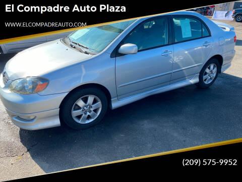 2006 Toyota Corolla for sale at El Compadre Auto Plaza in Modesto CA