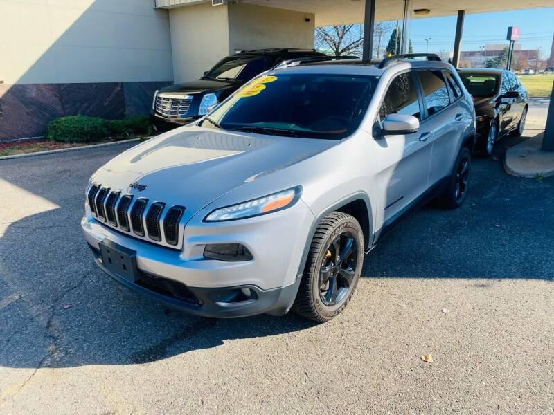 2017 Jeep Cherokee for sale at Big Three Auto Sales Inc. in Detroit MI