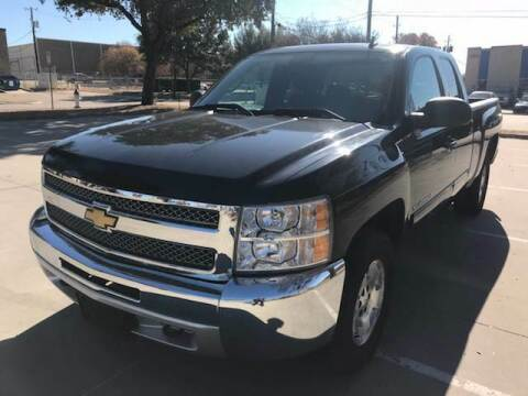 2012 Chevrolet Silverado 1500 for sale at Sima Auto Sales in Dallas TX