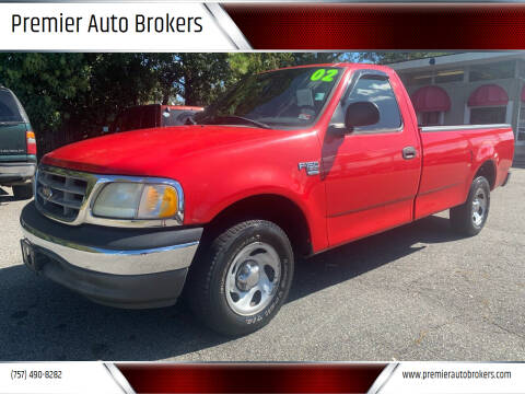 2002 Ford F-150 for sale at Premier Auto Brokers in Virginia Beach VA