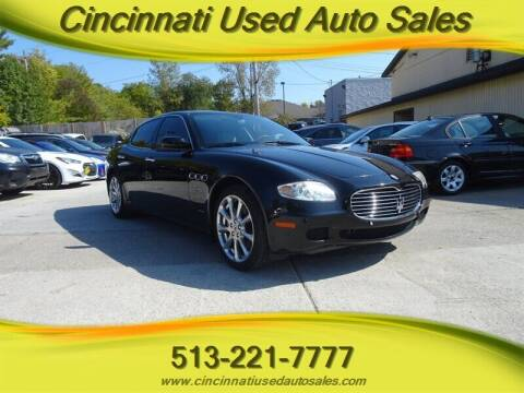 2005 Maserati Quattroporte for sale at Cincinnati Used Auto Sales in Cincinnati OH