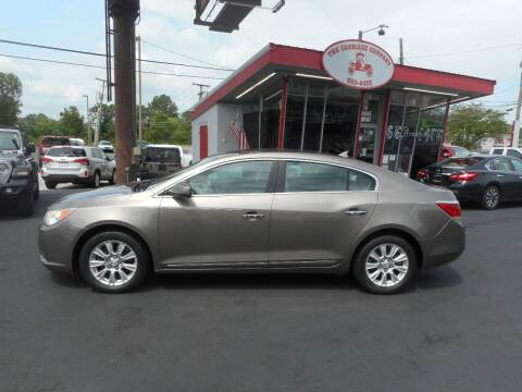 2012 Buick LaCrosse for sale at The Carriage Company in Lancaster OH