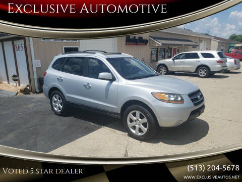 2009 Hyundai Santa Fe for sale at Exclusive Automotive in West Chester OH