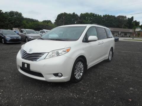 2015 Toyota Sienna for sale at Auto Center Elite Vehicles LLC in Spartanburg SC