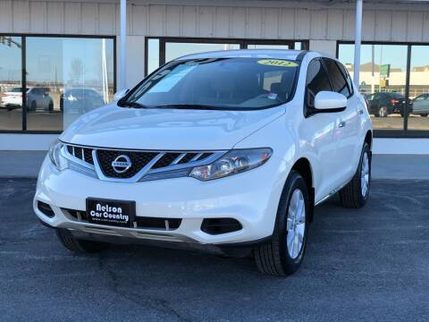 2012 Nissan Murano for sale at Nelson Car Country in Bixby OK
