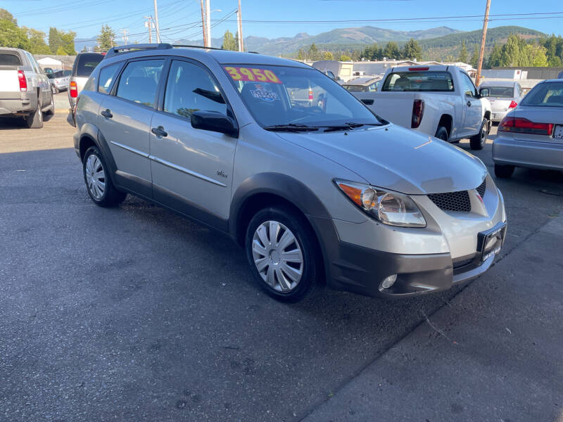 2003 Pontiac Vibe for sale at Low Auto Sales in Sedro Woolley WA