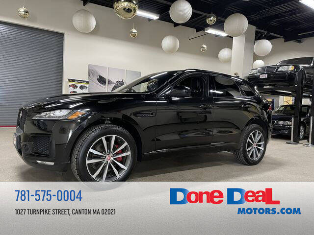 2017 Jaguar F-PACE for sale at DONE DEAL MOTORS in Canton MA
