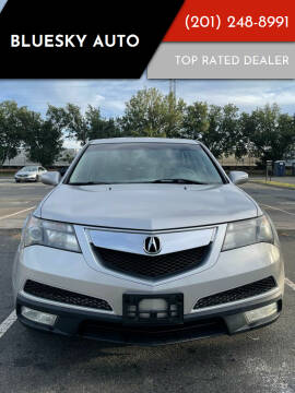 2012 Acura MDX for sale at Bluesky Auto in Bound Brook NJ