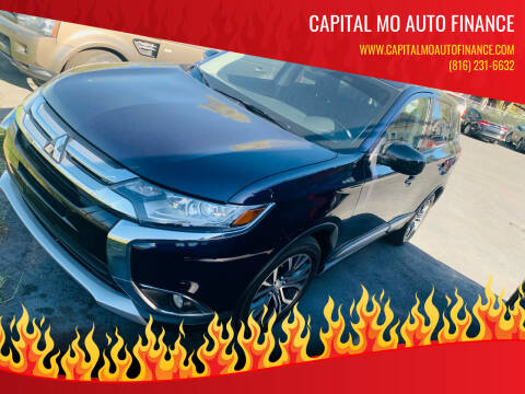 2017 Mitsubishi Outlander for sale at Capital Mo Auto Finance in Kansas City MO