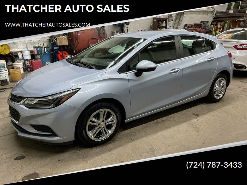 2017 Chevrolet Cruze for sale at THATCHER AUTO SALES in Export PA