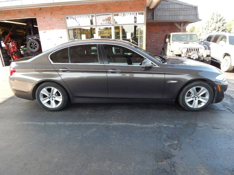 2013 BMW 5 Series for sale at AUTOWORKS OF OMAHA INC in Omaha NE