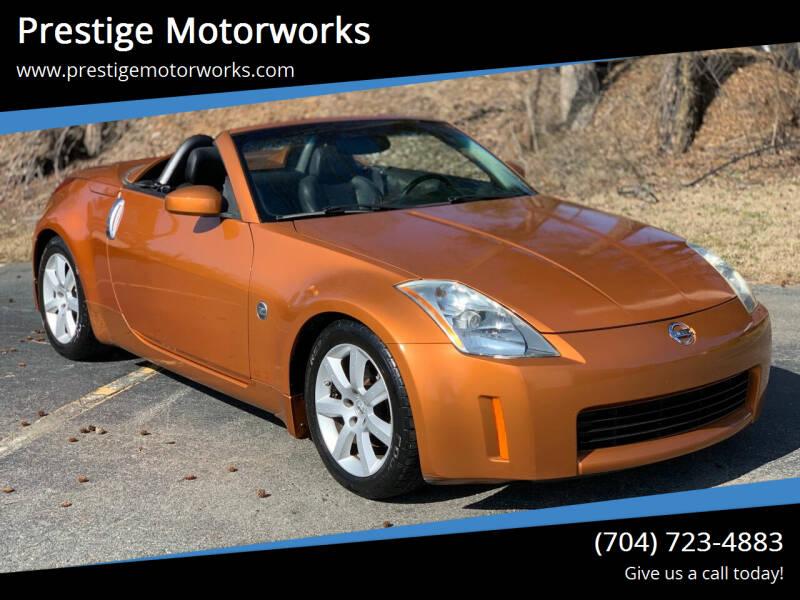 2005 Nissan 350Z for sale at Prestige Motorworks in Concord NC