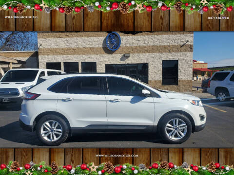 2015 Ford Edge for sale at Wilborn Motor Co in Fort Worth TX