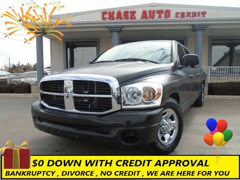 2007 Dodge Ram Pickup 1500 for sale at Chase Auto Credit in Oklahoma City OK