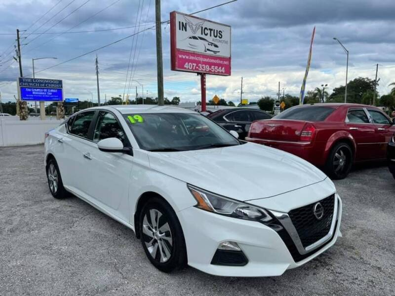 2019 Nissan Altima for sale at Invictus Automotive in Longwood FL