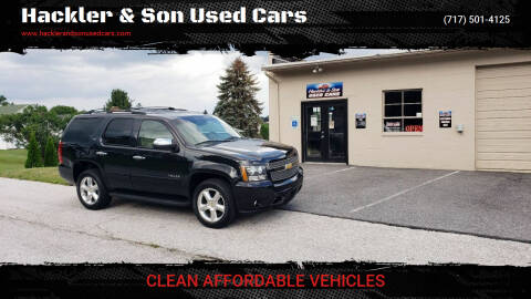 2011 Chevrolet Tahoe for sale at Hackler & Son Used Cars in Red Lion PA