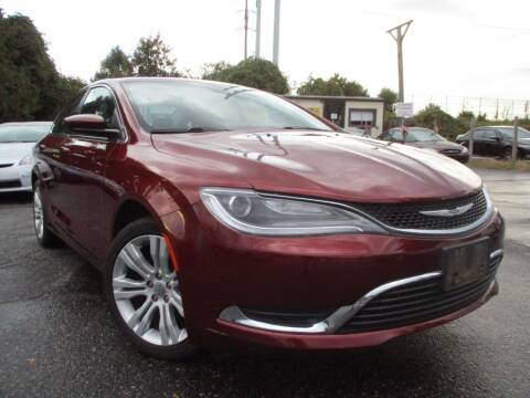 2015 Chrysler 200 for sale at Unlimited Auto Sales Inc. in Mount Sinai NY
