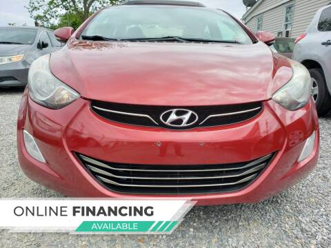 2012 Hyundai Elantra for sale at RMB Auto Sales Corp in Copiague NY
