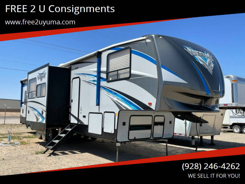 2019 Forest River Vengeance for sale at FREE 2 U Consignments in Yuma AZ