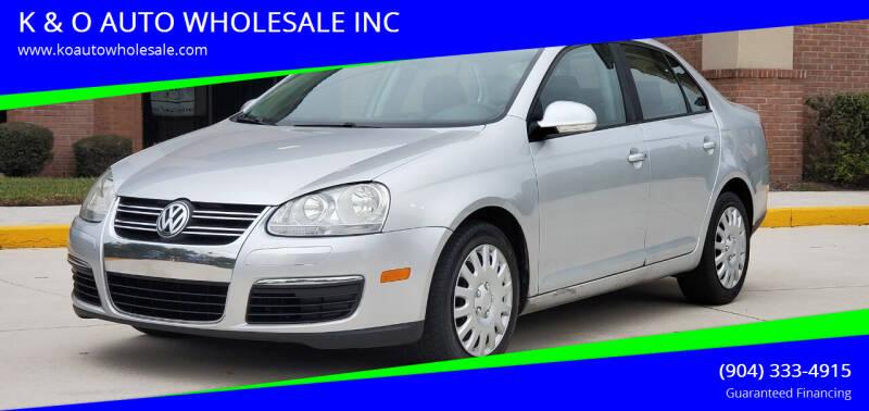 2010 Volkswagen Jetta for sale at K & O AUTO WHOLESALE INC in Jacksonville FL